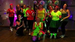 Clubbercise 80s Party Group Photo