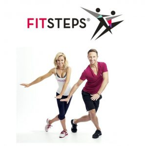 FitSteps Logo with Natalie & Ian